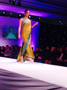 As seen on the ramp - India Fashion Week, London